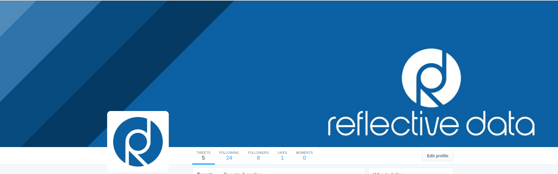 Reflective Data Twitter Account