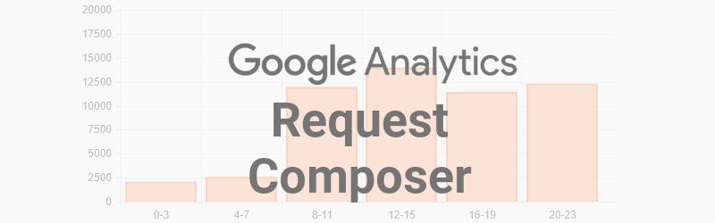 Google Analytics Request Composer