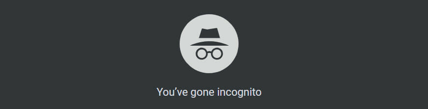 Google Analytics Incognito Browser