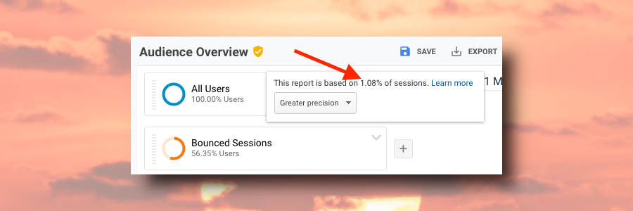 Google Analytics Sampling and Data Collection Limits
