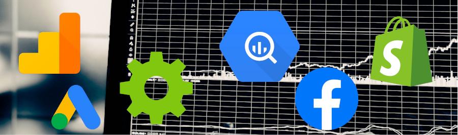 Shopify & Google Analytics to BigQuery